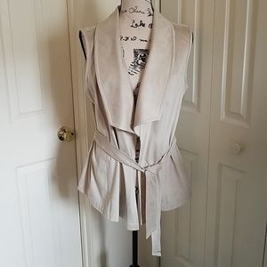 Luxurious suede vest